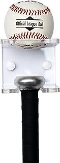 YYST Baseball Bat and Baseball Holder - Acrylic - Clear - No Bat and Ball
