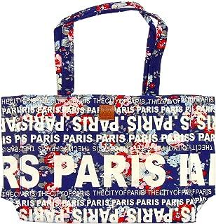 Robin Ruth 'Flowery Paris' Shopping Bag - Blue