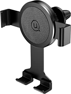 Car Phone Mount, [Anti-Weightlessness] USAMS Cell Phone Holder for Car Universal Air Vent Car Phone Holders Cradle for iPhone X/8/8 Plus/7/7P/6s/6P Samsung S9/S9 Plus/S8/S8 Plus Huawei and More(Black)