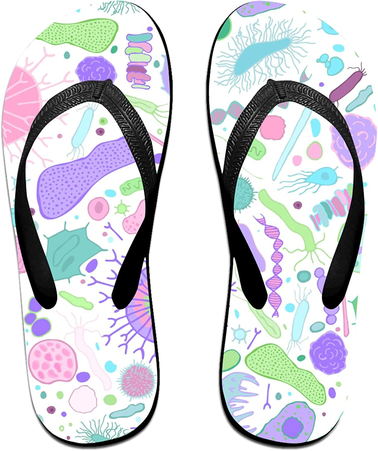 Women's Translated Men's Flip Flop Slippers Classical Adults 5 ☆ popular Su Bacterias