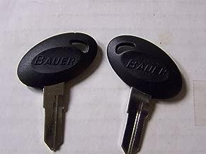 Bauer 2 OEM Camper Key Blanks