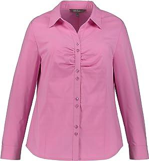 ULLA POPKEN Bluse Camicia da Donna, Rosa, 60