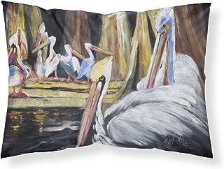 Caroline's Treasures JMK1137PILLOWCASE Pelicans Fabric Standard Pillowcase, Large, Multicolor