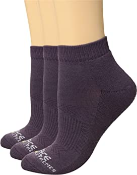 99a6911d2e02c Columbia Half Cushion Side Mesh Athletic Socks No Show 3-Pack at ...
