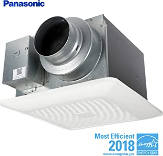 Panasonic FV-0511VKS2 WhisperGreen Multi-Flow Bathroom Fan, White