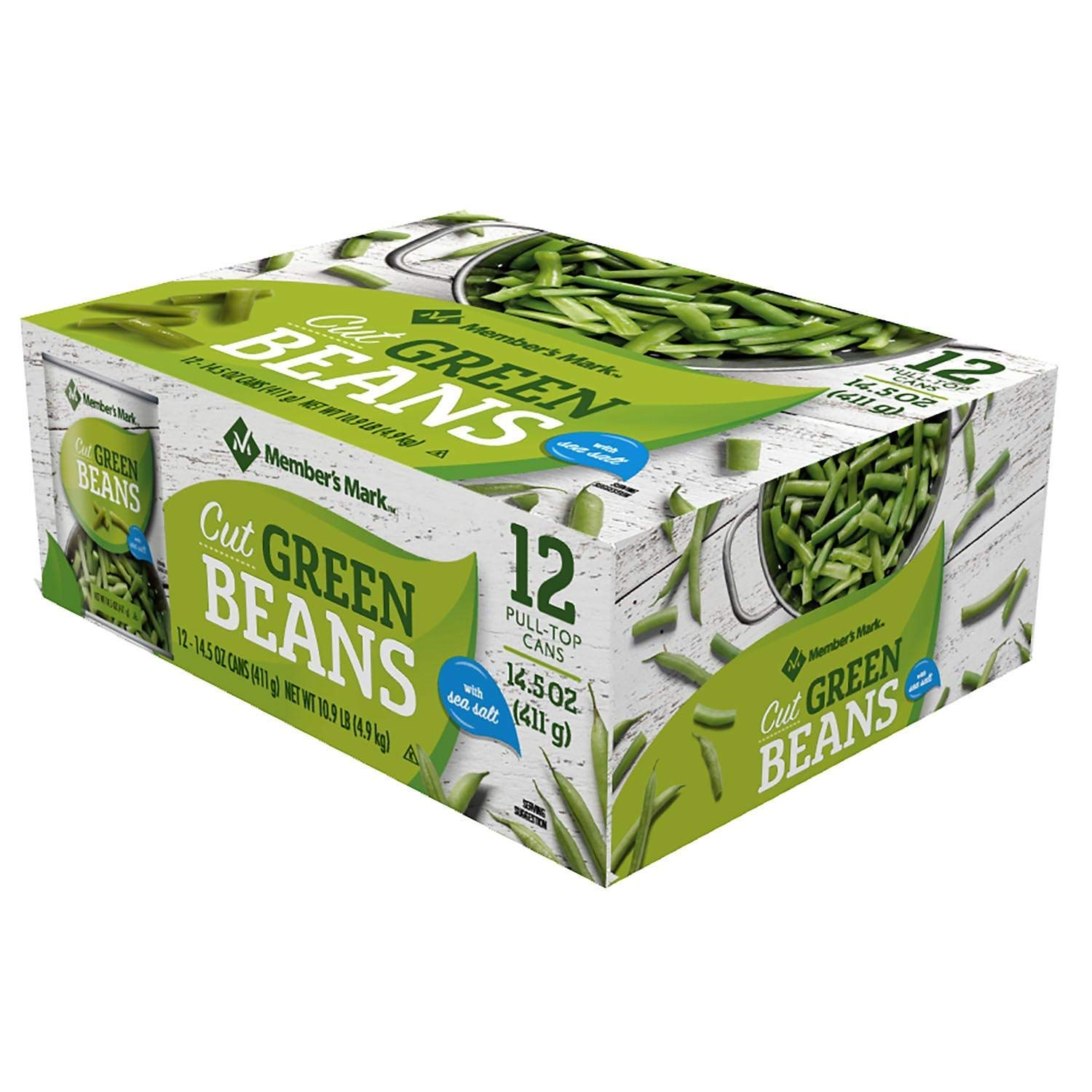 Member's Max 49% OFF Mark Green Beans 14.5 oz. can pk. All stores are sold of 2 12 A1 pack