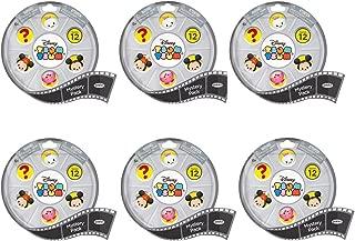 Tsum Tsum Bundle of 6: Disney Mystery Stack Pack Mini Figures Series 12