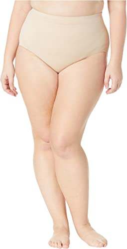 Plus Size Extra Firm Control Waistline Brief