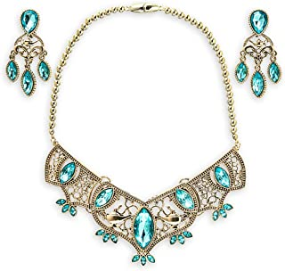 Best princess jasmine necklace and earrings Reviews