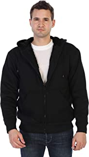 Gioberti Men and Women Sherpa Lined Fleece Hoodie Jacket