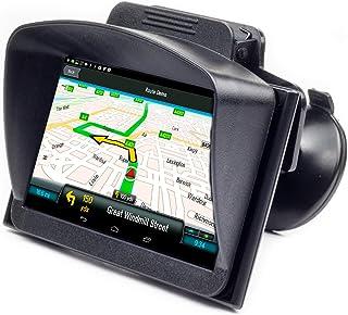Digicharge® Sat Nav solskydd för 15 cm 5,1 tum 4,3 tum skärm kompatibel med TomTom Go Basic Essential Garmin Drivesmart Dr...