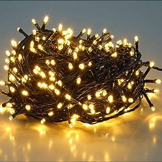 comprar comparacion SALCAR 25.7m 360 Leds Cadena de Luces IP44 Impermeable, LED Luz Cadena Ligera Navidad, Led Cadena Luminosa con 8 Modos, Le...
