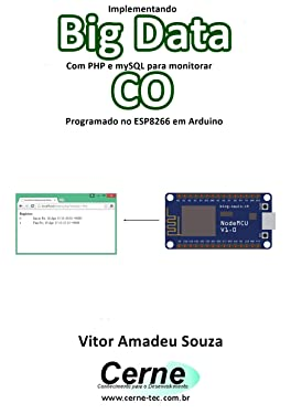 Implementando Big Data Com PHP e mySQL para monitorar CO Programado no ESP8266 em Arduino (Portuguese Edition)