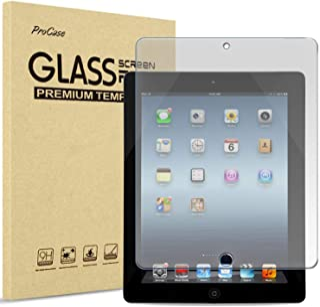 ProCase iPad 2 3 4 Screen Protector (Old Model), Anti-Fingerprint Matte Tempered Glass Screen Film Guard Screen Protector ...