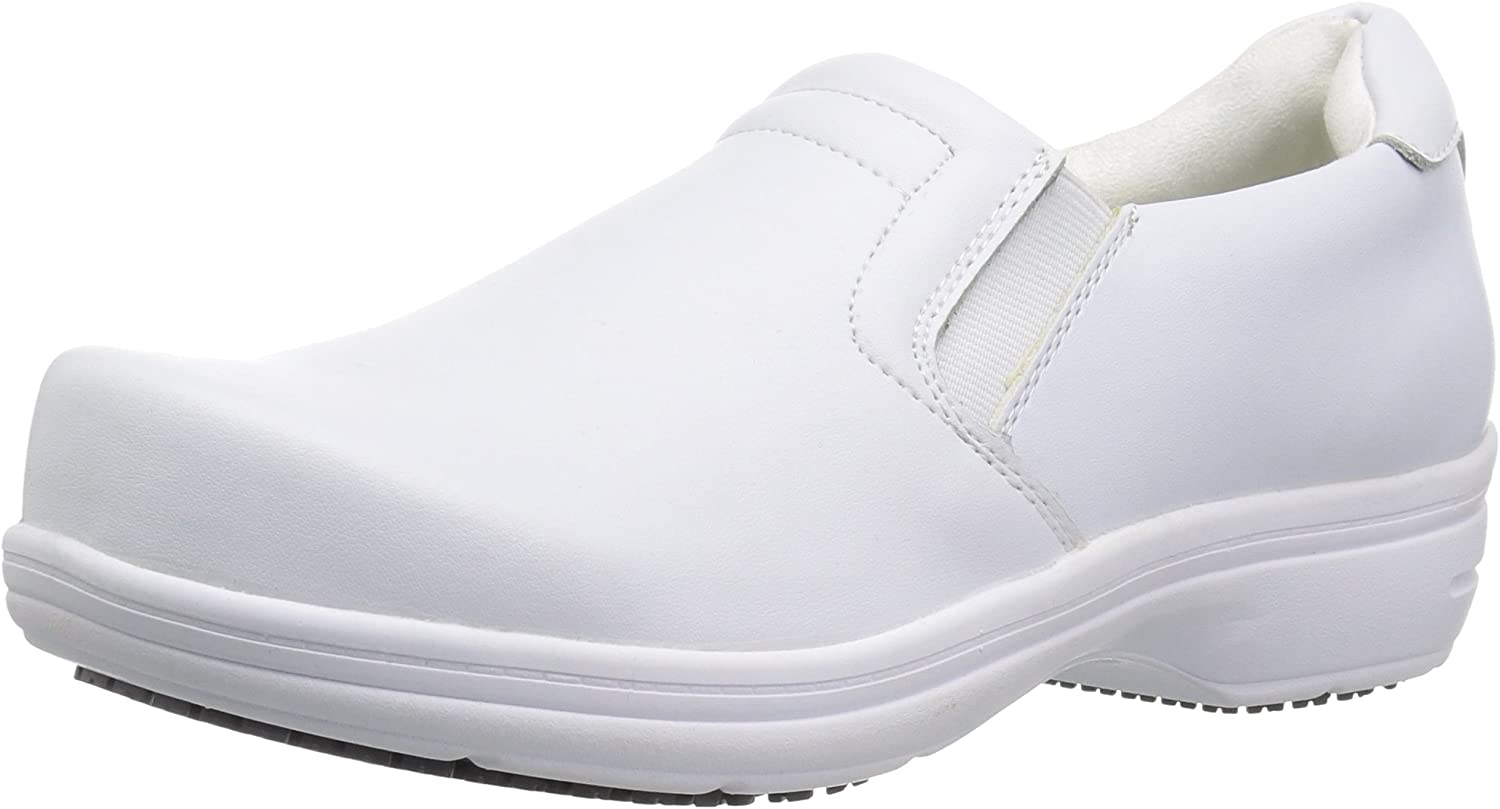 Easy Works womens Bind Genuine Free Shipping Health Care Shoe 8 Limited price Professional W White