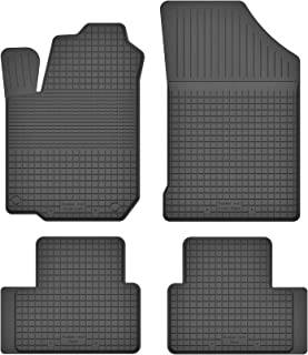 Set 4-teilig B/är-AfC SA08331 Royal Auto Fu/ßmatten Velours Grau Rand Kettelung Grau Textiler Trittschutz Passgenau f/ür Modell Siehe Details