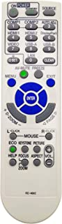 Okelet RD-469E プロジェクターのリモコン、に適しています NEC RD-470J/ NP-M402WJD/ M402XJD/ M403HJD/ M403WJD/ M403XJD/ ME331WJL/ ME361WJL/ ME401...