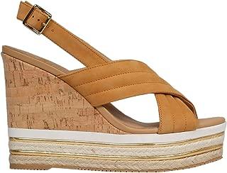 HOGAN Luxury Fashion Womens HXW4420BM30A8HS405 Brown Wedges | Spring Summer 19