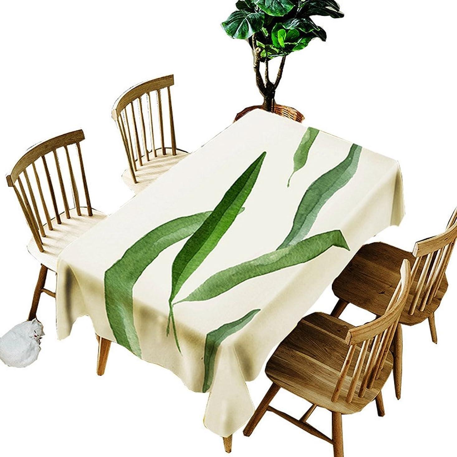 消化ばかげたホイール【AMANGU】 テーブルクロス 食卓用 マルチカバー ソファーカバー テーブル掛け コーヒーテーブル 茶卓 オシャレ 可愛い 葉柄 盖巾 カーテン 撮影用 飾り布 お部屋 お食事会 色落ちにくい 耐熱 来客用