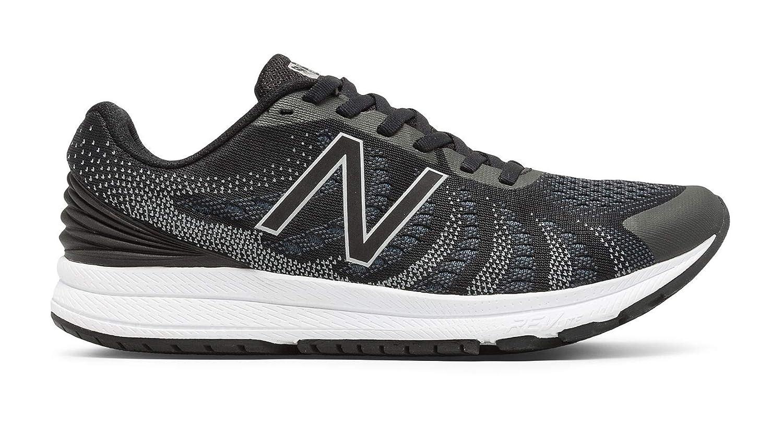 慣れる複製する拍車[ニューバランス] レディース 女性用 シューズ 靴 スニーカー 運動靴 Rush V3 - Black/Thunder/White [並行輸入品]