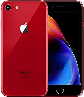 "Apple iPhone 8 - Smartphone (11,9 cm (4.7""), 1334 x 750 Pixeles, 64 GB, 12 MP, iOS 11, Rojo) (Reacondicionado)"