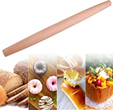Rolling Pins for Baking Pizza Dough, Cookie & Pie - Wooden Rolling Pin Dough Roller Rodillo for Bakers, Perfect to Make Pi...