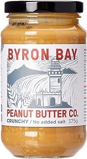 Byron Bay Crunchy Unsalted Peanut Butter, 375 g