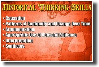 historical thinking skills poster