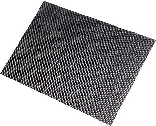CCChaRLes 250X420X (0.5-5) Mm Feuille De Plaque De Fibre De Carbone À Armure Sergé Noir 3K Panneau De Panneau De Fibre De ...
