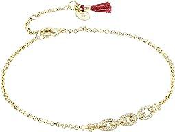 SHASHI - Pave Chain Bracelet