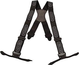 Oregon 537804 Apoyos para los pantalones de protección de motosierra, Color Negro