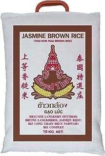 10kg  ROYAL THAI Naturreis AAA / Thai Brown Rice  brauner Reis