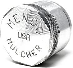 Mendo Mulcher Billet Aluminum 4 Piece Grinder with Screen (2.25 Inch (Medium), Aluminum)