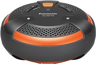 Panasonic SC-NT10-D TOUGH BlueTooth Portable Wireless Speaker System (Orange/Black)
