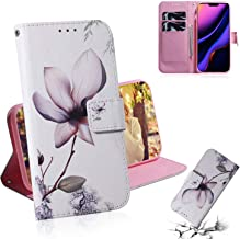 iPhone 11 Pro Max Case, ZERMU Shockproof Painted Pattern Premium PU Leather Kickstand Flip Wallet Case with Card Holder ID Slot and Hand Strap Magnetic Closure Case for iPhone 11 Pro Max 6.5