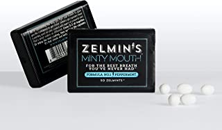 Zelmin's Minty Mouth - Formula No.1 Peppermint | A Fresh Take On Breath Mints, Made With Parsley Seed Oil - No Artificial ...