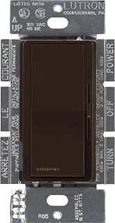 Lutron DV-603P-BR 600-watt 3-Way Dimmer, Brown