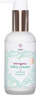 BEB Organic Silky Cream. Moisturizing Rosehip + Avocado Oil Lotion for Face and Body. Safe for Babies, Newborns and Preemi...