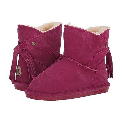 Bearpaw Kids Mia (Little Kid/Big Kid) (Pom Berry) Girls Shoes