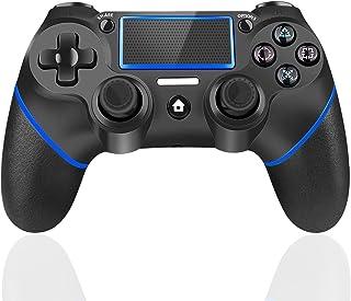 TUTUO Joystick Controller per PS4, Wireless Controller, di Gioco Wireless Doppio Shock a Sei-Assi Joystick con TouchPad e ...