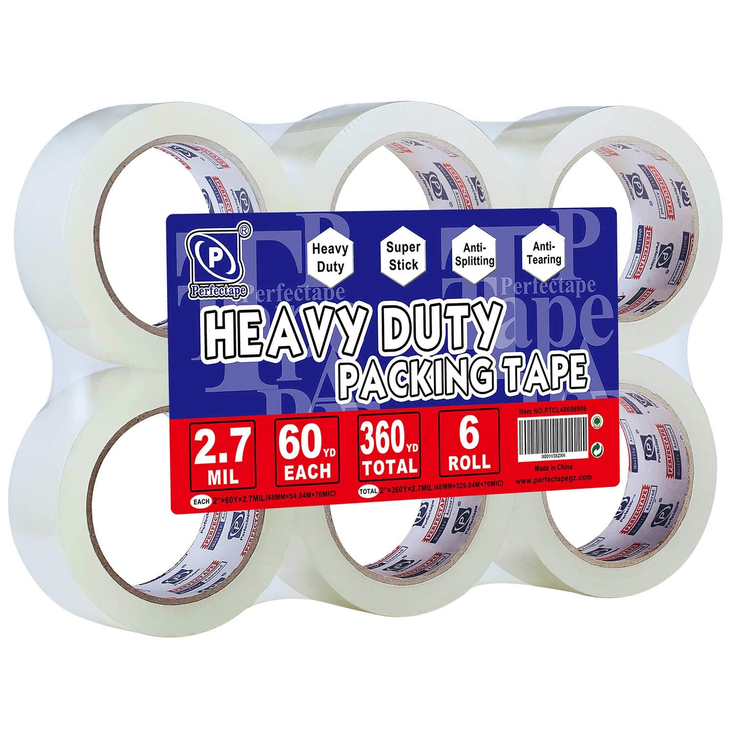 Perfectape Rolls Total Adhesive Packaging Shipping