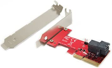 Ableconn PEXU2-131 PCI Express 4.0 x4 Host Adapter Card with SFF-8643 Mini-SAS HD 36Pin Connector for U.2 (SFF-8639) PCIe-NVMe SSD - Support Intel 750 2.5-inch U.2 SFF SSD
