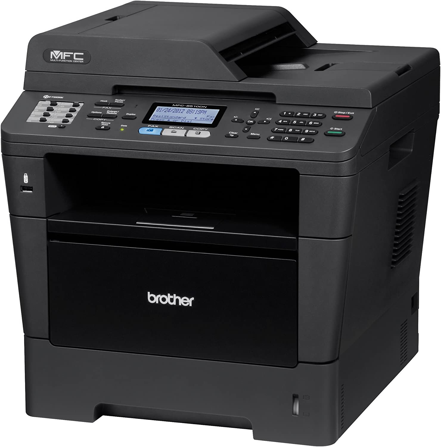Brother MFC8510DN Monochrome Printer with Scanner, Copier and Fax, Amazon Dash Replenishment Ready