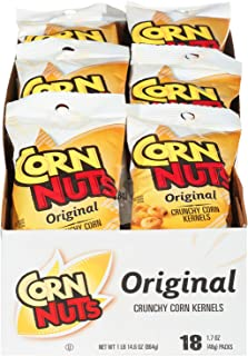 Corn Nuts Original Crunchy Corn Kernels (1.7 oz Bags, Pack of 18)