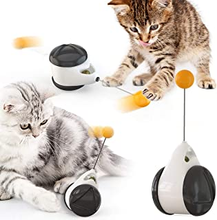Cat Toy Interactive for Indoor,Balanced Cats Chasing,Kitten Ball Toys DRASE