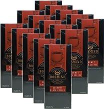 Bosmino Gourmet 15 Boxes Black Coffee Cafe Nior Water Soluable Ganoderma Lucidum (1 Box: 30 Sachets)