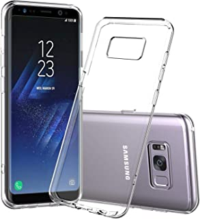 Slim Transparent Ultra-Thin TPU Protective Case Cover for Samsung Galaxy S8 - Clear