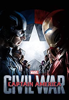 chronical collection Civil War Marvel Captain America Poster 12 x 12 Inch Rolled Poster