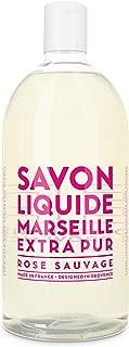 Compagnie de Provence Savon de Marseille Extra Pure Liquid Soap - Wild Rose - 33.8 fl oz Plastic Bottle Refill