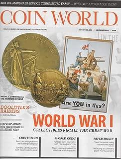 Coin World Magazine, November 2014 (Vol 55, Issue 2847)